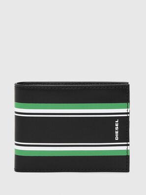NEELA XS, Black/Green - Small Wallets