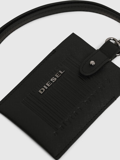 Diesel - BADGE, Black - Card cases - Image 4