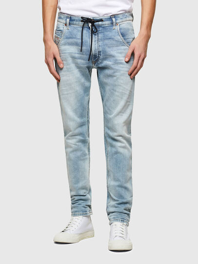 Diesel - Krooley JoggJeans® 069UX, Light Blue - Jeans - Image 1