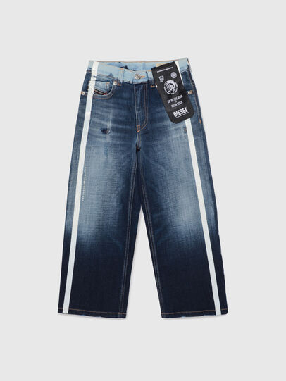Diesel - WIDEE-J, Medium blue - Jeans - Image 1