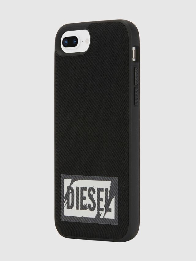 Diesel - BLACK DENIM IPHONE 8 PLUS/7 PLUS/6S PLUS/6 PLUS CASE, Black - Cases - Image 6