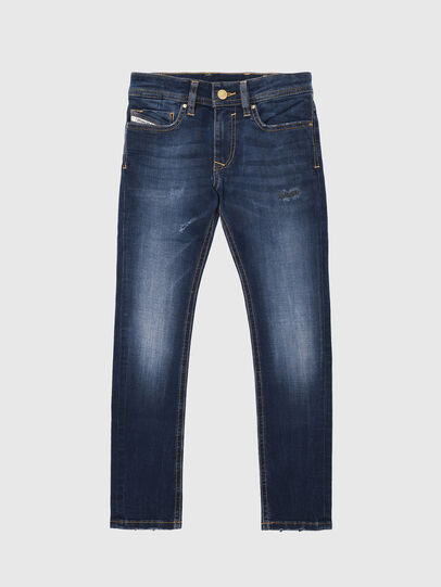 Diesel - SLEENKER-J-N, Medium blue - Jeans - Image 1