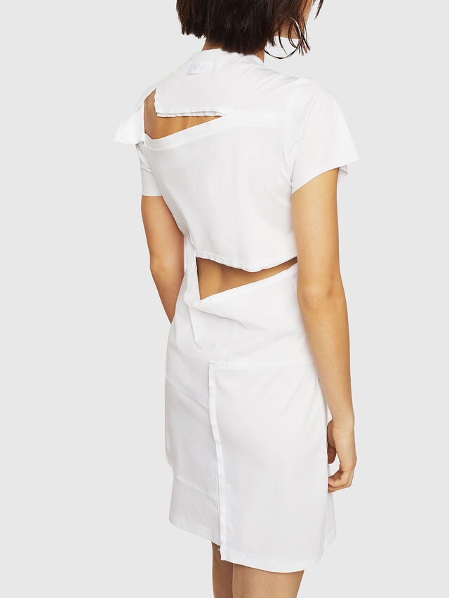 Diesel - D-MILIA-B, White - Dresses - Image 2