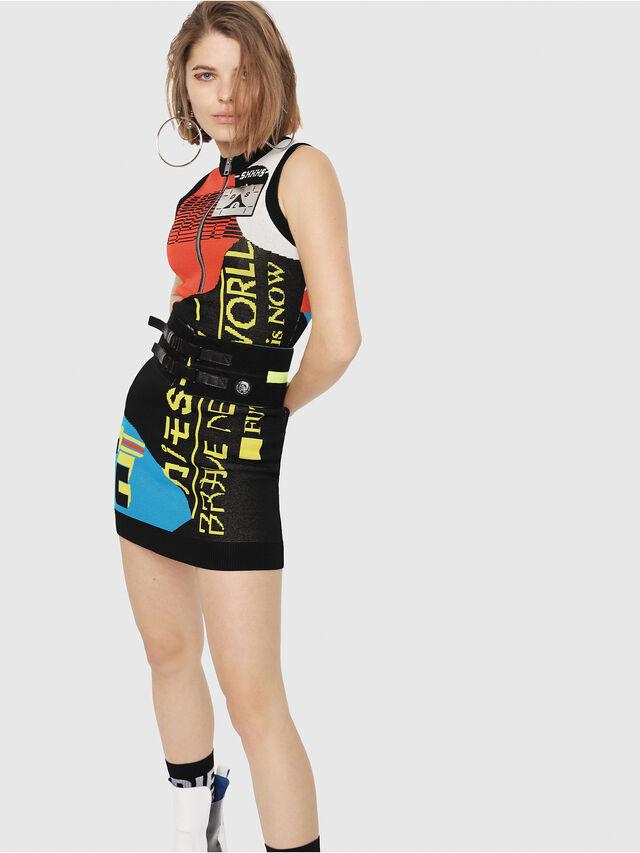 Diesel - M-RUN, Multicolor - Knitwear - Image 1