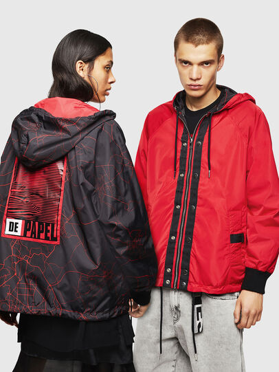 Diesel - LCP-AKI-CASA, Red - Jackets - Image 7