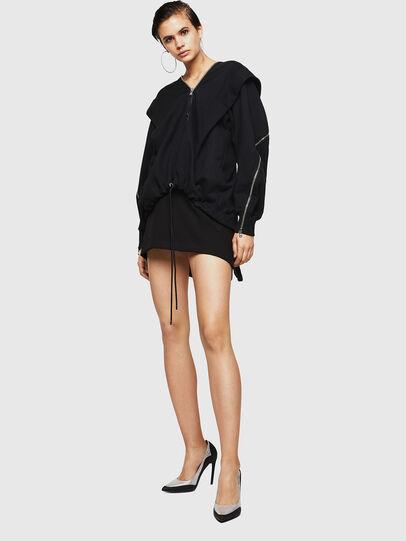 Diesel - F-HOSI, Black - Sweaters - Image 6