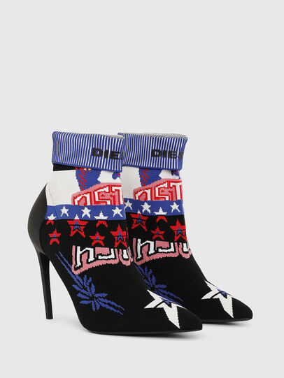 Diesel - D-SLANTY HAB, Multicolor/Black - Ankle Boots - Image 2