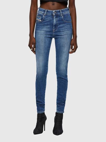 Diesel - Slandy High 009QS, Light Blue - Jeans - Image 1