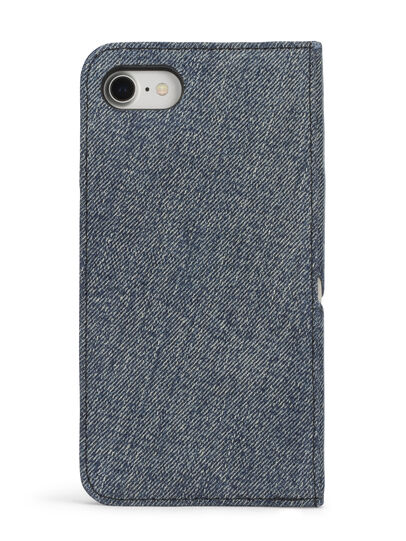 Diesel - DENIM IPHONE 8 PLUS/7 PLUS FOLIO,  - Flip covers - Image 5