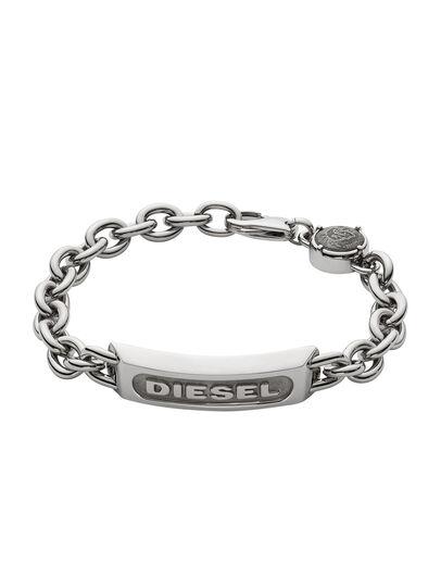 Diesel - BRACELET DX0951, Silver - Bracelets - Image 1