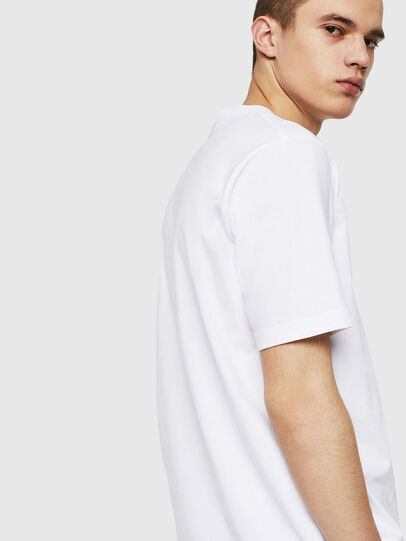 Diesel - T-JUST-POCKET-COPY, White - T-Shirts - Image 2