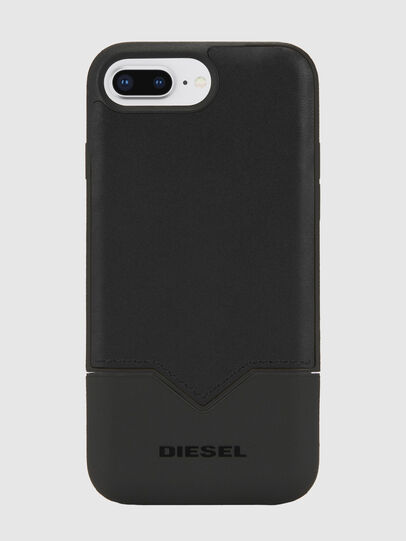 Diesel - CREDIT CARD IPHONE 8 PLUS/7 PLUS/6S PLUS/6 PLUS CASE, Black - Cases - Image 1