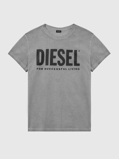 Diesel - T-DIEGO-LOGO, Dark grey - T-Shirts - Image 1