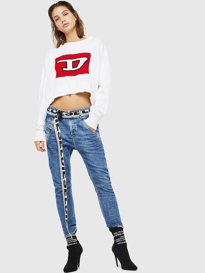 Diesel - Fayza JoggJeans 0870K,  - Jeans - Image 5