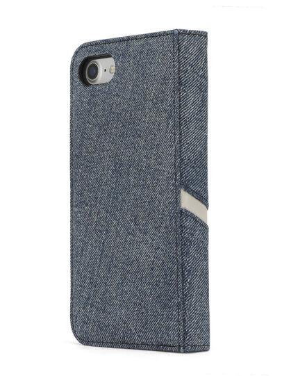 Diesel - DENIM IPHONE 8/7 FOLIO, Blue Jeans - Flip covers - Image 5