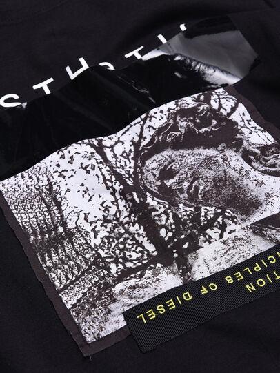 Diesel - TSILYWB, Black - T-shirts and Tops - Image 3