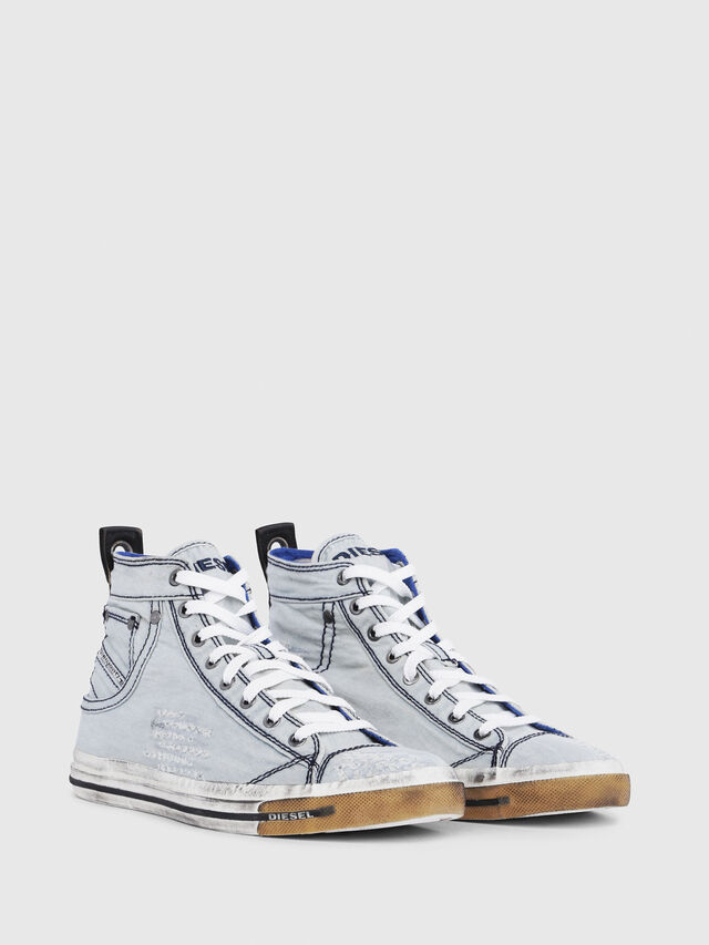 Diesel - EXPOSURE I, Light Blue - Sneakers - Image 2