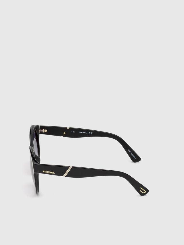 Diesel DL0252, Black - Eyewear - Image 3