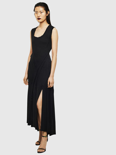 Diesel - D-AQUARZ, Black - Dresses - Image 1