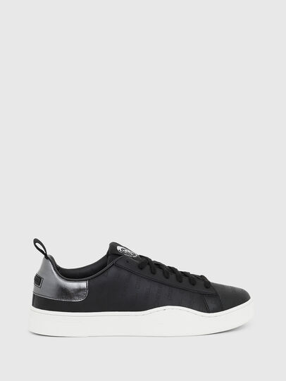 Diesel - S-CLEVER LOW LACE, Black/Silver - Sneakers - Image 1