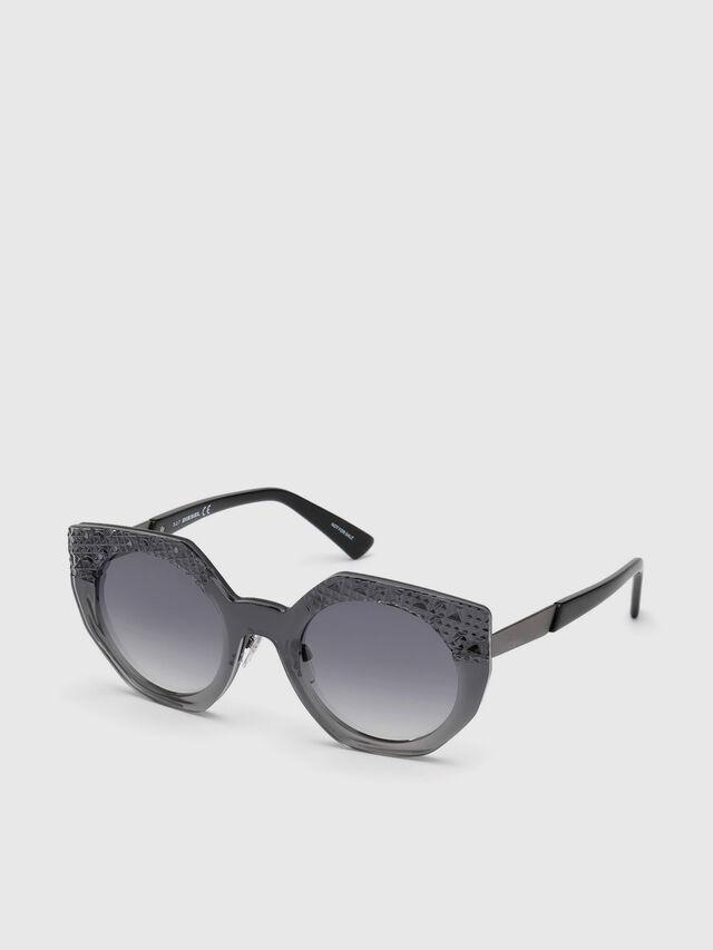 Diesel - DL0258, Grey - Sunglasses - Image 4