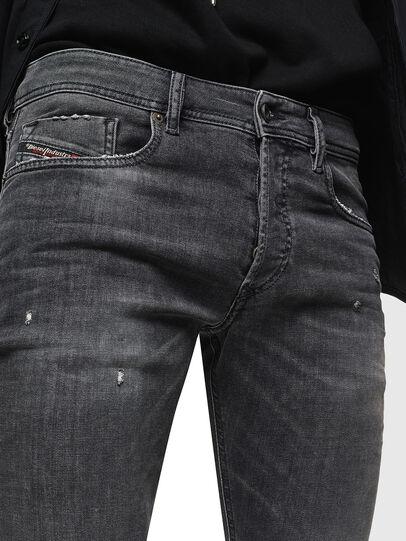 Diesel - Sleenker 069JR, Black/Dark grey - Jeans - Image 3