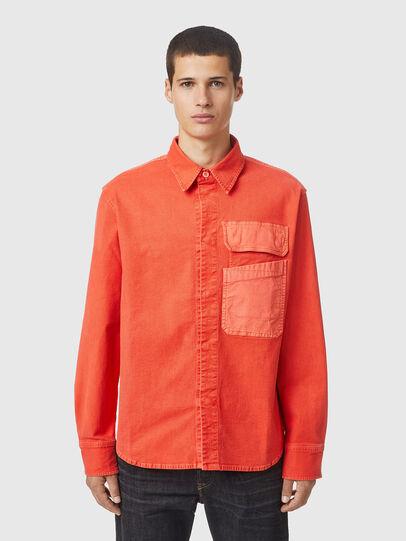 Diesel - D-HORU-SP JOGGJEANS, Orange - Denim Shirts - Image 1