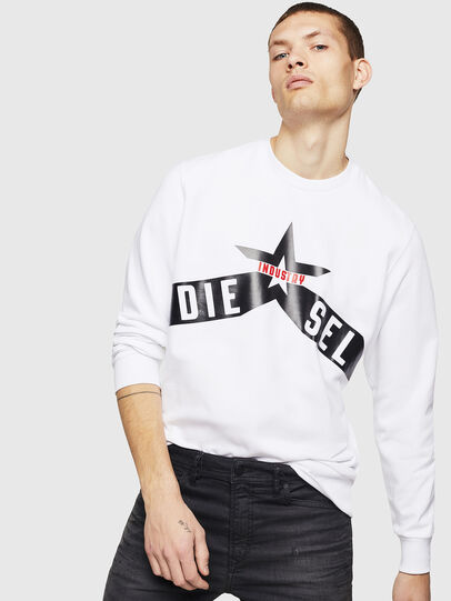 Diesel - S-GIR-A2, White - Sweaters - Image 4