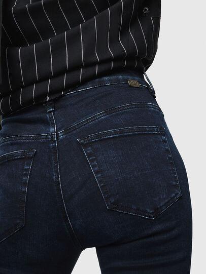 Diesel - Slandy High 082AU, Dark Blue - Jeans - Image 3