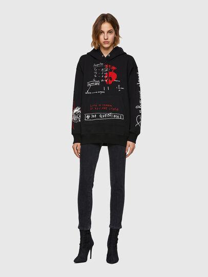 Diesel - F-EXA-HOOD, Black - Sweaters - Image 6