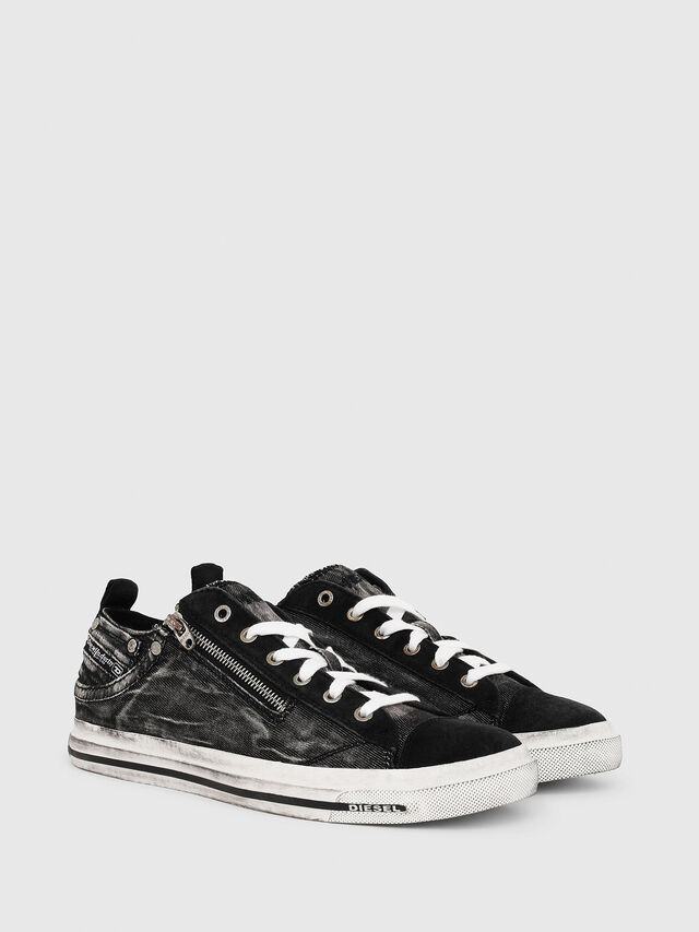 Diesel - EXPO-ZIP LOW, Black - Sneakers - Image 2