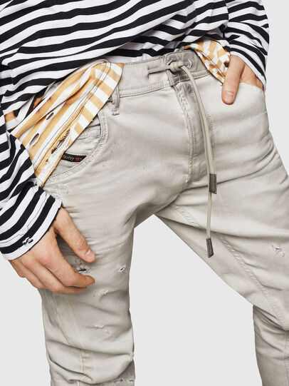 Diesel - Krooley JoggJeans 069GT, Light Grey - Jeans - Image 3