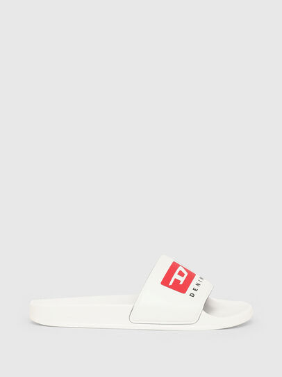 Diesel - SA-MAYEMI PW, White - Slippers - Image 1