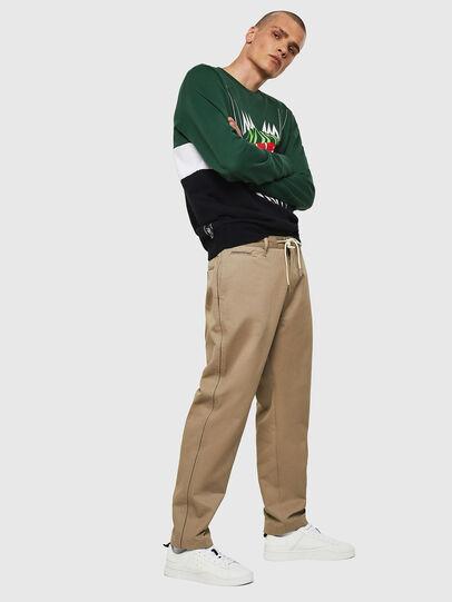 Diesel - P-MORGY, Light Brown - Pants - Image 5