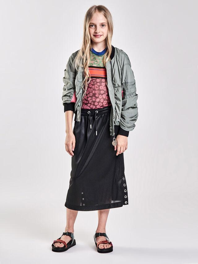 Diesel - GRHONX, Black - Skirts - Image 4