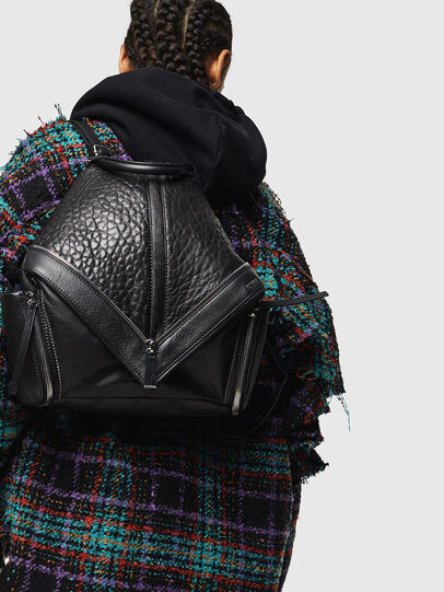 Diesel - LE-MHONIC, Black - Backpacks - Image 7