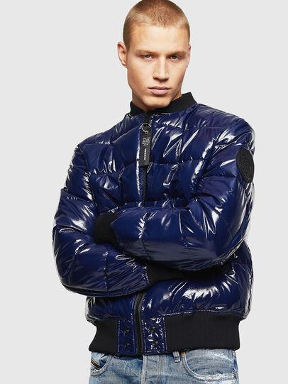 Diesel - W-ON, Blue - Winter Jackets - Image 7