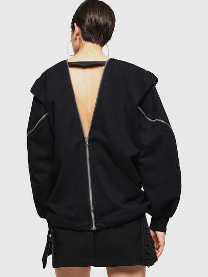 Diesel - F-HOSI, Black - Sweaters - Image 2