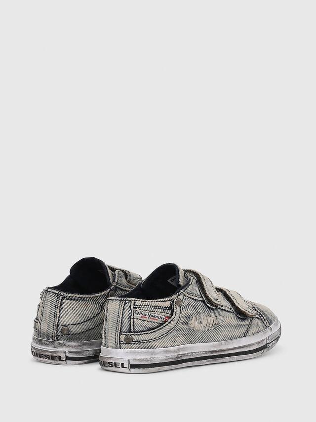 Diesel - SN LOW STRAP 11 DENI, Grey Jeans - Footwear - Image 3