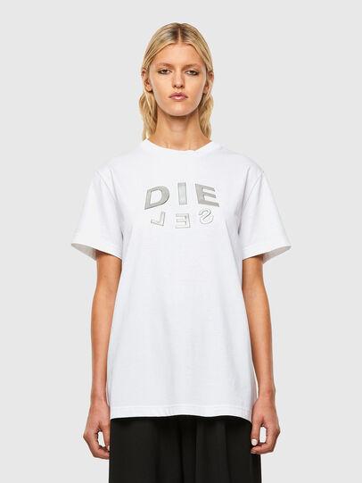 Diesel - T-DARIA-R1, White - T-Shirts - Image 1