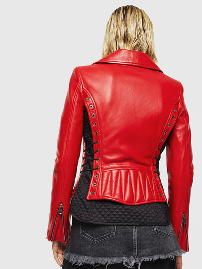 Diesel - L-CARAMA,  - Leather jackets - Image 2
