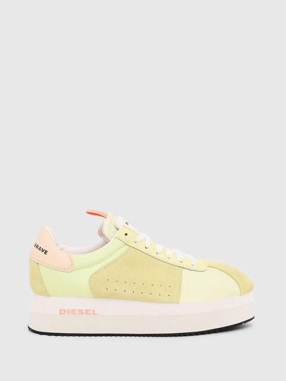 Diesel - S-PYAVE WEDGE, Yellow - Sneakers - Image 1
