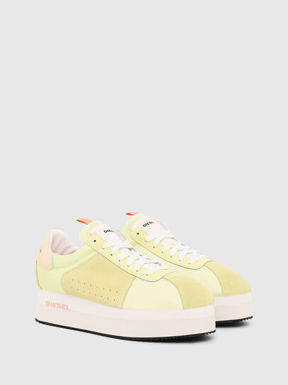 Diesel - S-PYAVE WEDGE, Yellow - Sneakers - Image 2