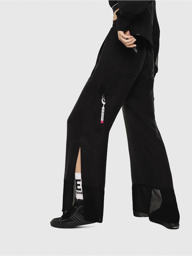 Diesel - P-LILLY-A, Black - Pants - Image 2