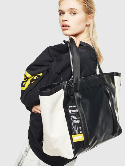 Diesel - F-CAORLY SHOPPER L,  - Shopping and Shoulder Bags - Image 6
