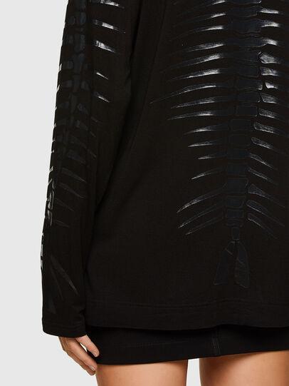 Diesel - T-HILARIOUS, Black - T-Shirts - Image 5