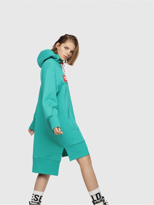 Diesel - D-ILSE-C, Water Green - Dresses - Image 3