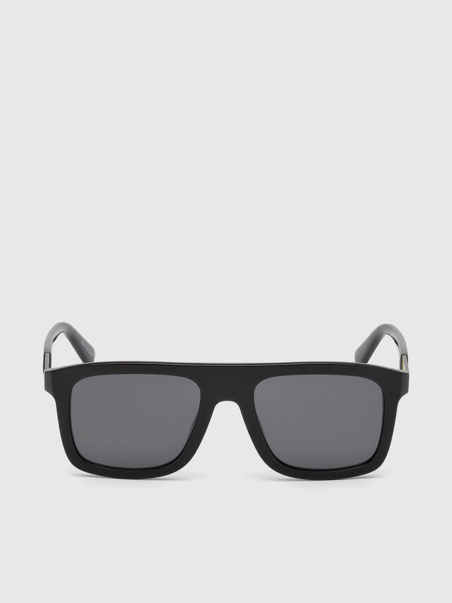 Diesel - DL0268, Black - Sunglasses - Image 1