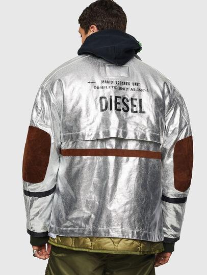 Diesel - J-ZUV, Silver - Jackets - Image 2