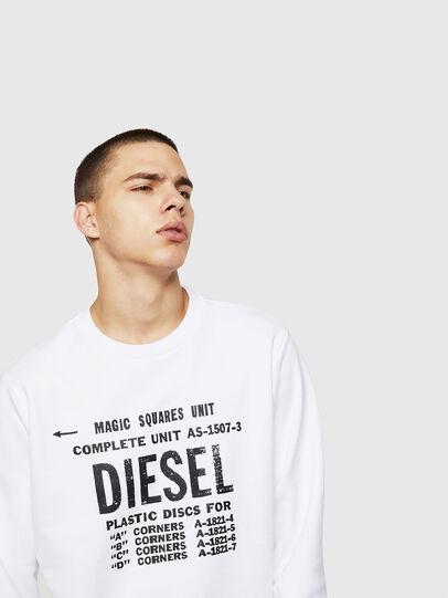 Diesel - S-GIR-B5, White - Sweaters - Image 3